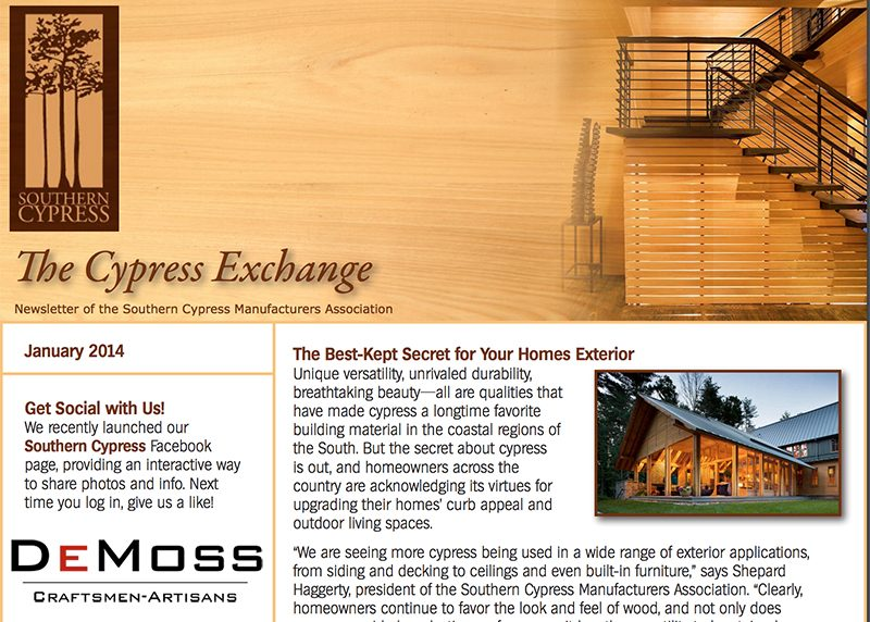 Demoss Cabinetry - Tom Sharrett - Featured In  Cypress Exchange